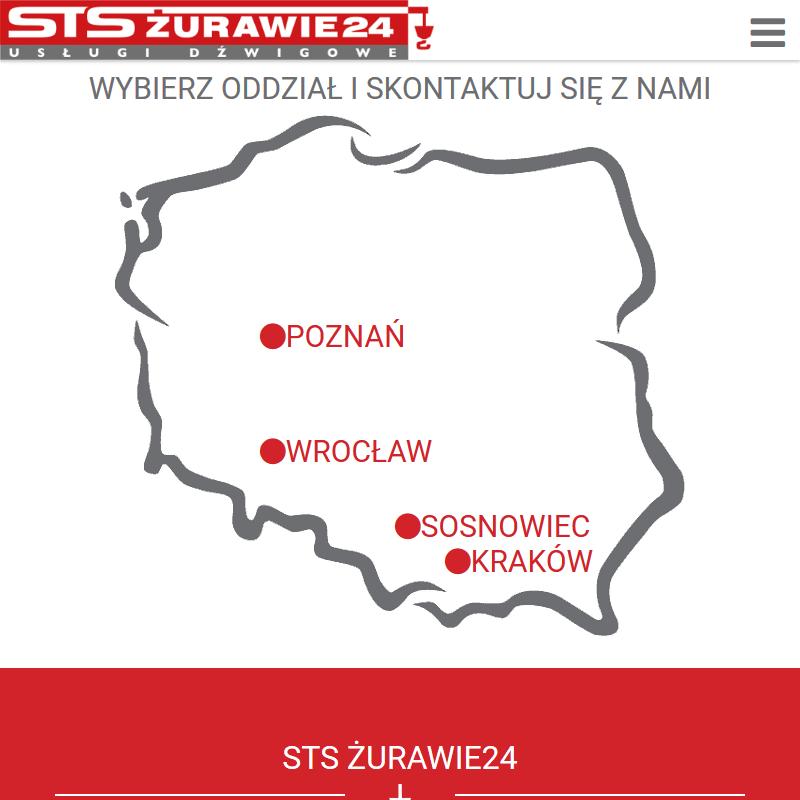 Żurawie samojezdne - Wrocław